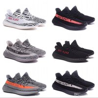 Wholesale raw yellow - Boost 350 V2 Semi Frozen Yellow Gum Soles Raw Steel Red B37572 Butter V2 350 Beluga 2.0 Grey Bold Orange AH2203 Shoes