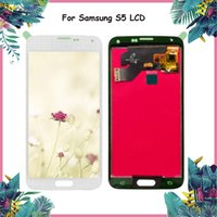 Wholesale samsung s5 display for sale - Original Super AMOLED LCD for SAMSUNG Galaxy S5 LCD Display G900 G900F G900M G900H SM G900F Touch Screen For Samsung S5 LCD
