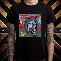 Wholesale mf black - New MF DOOM Operation Doomsday Album Cover Men's Black T-Shirt Size S to 3XL