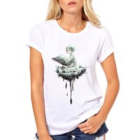 Wholesale lovely ladies clothes for sale - Women s Tee Womens Brand Clothing Summer Women Nest T Shirt Short Sleeve O Neck Casual Lovely Cartoon Girl Tops Tees Female Ladies T Shirt