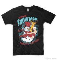 crossfit gifts Canada - 2018 Crossfit T Shirts Perverted Snowman Winter Gift T Shirt Top X Rated Naughty Chrstmas Reindeer Hip-Hop Casual Clothing