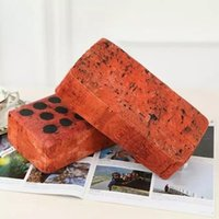 Wholesale Trick Toy Board brick pillow evil doing props funny whole person creative gadgets simulation nap brick