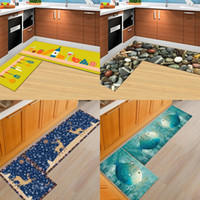 Wholesale wholesale washable rugs - Household Water Uptake Rug 3D Printing Animal Bath Door Mats Multi Function Washable Soft Comfort Bathroom Accessories High Quality 36wn2 CB