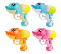 oyuncak yaz su tabancası toptan satış-Çocuk su tabancası oyuncak yüksek basınçlı su püskürtme yaz plaj oyun çocuk mini yunus su tabancası oyuncak