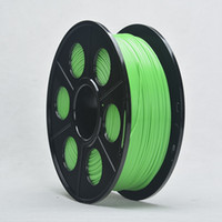 carretes de la impresora 3d  al por mayor-Color Verde ABS 1,75 mm 3D Filamento Para Impresora 3D pluma precisión dimensional +/- 0,02 mm 1kg Carrete para Makerbot Rearap UP