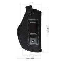 accesorios de funda al por mayor-Caza Tactical Gear Funda de cinturón oculto en Carry pistolera para IWB Holster para pistolas compactas Subcompact Accesorios para exteriores W / Clip