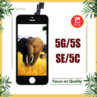 anzeige 5s großhandel-Lcd display touchscreen digitizer assembly mit rahmenreparatur ersatz für iphone 5 für iphone 5s 5se für iphone 5c