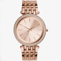 тонкие часы для женщин оптовых-Оптовые продажи ультра тонкие часы розовое золото женщина алмазный цветок часы 2018 марка роскошные медсестра женские платья женские Наручные часы подарки для girl9