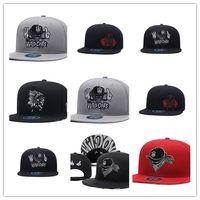 Top Selling Marca X Os selvagens Snapback Chapéus West Coast gangsta Fresco Mens  Hip Hop Caps Rua Headwear preto cinza Vermelho a3796d337e5