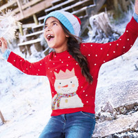 Wholesale children classic clothes online - Girls Hoodies Kids Long Sleeve Tops Christmas Baby Hoodies Sweatshirts Children T shirts for Girls Winter Clothes