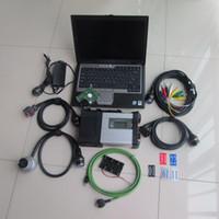 automotive engine analyzer software großhandel-für mb star c5 automotive diagnose mit hdd xentry epc wis mit d630 laptop full set für mb auto und lkw diagnose