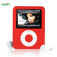 Wholesale generations radio - ssdfly Hot High Quality MP4 With Earphones 1.8inch Screen LCD Media Video Game Movie FM Radio 3th Generation MP4 Music Player
