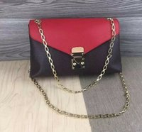 Wholesale Ree Shipping - ree shipping!Hight quality cowhide women genuine leather pallas flap chain Oxidized shoulder bag tote purse