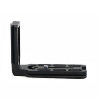 schnellverschluss l plattenhalterung großhandel-L Typ Schnellwechselplatte Vertikal L Halterung für DSLR-Kamera Schnellwechselplatte Halterung für Benro Markins