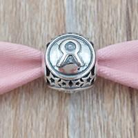 zodiac jewelry taurus venda por atacado-Taurus signo do encanto 925 grânulos de prata único estilo europeu jóia de Pandora colar pulseiras 791937 Os Signos do Zodíaco