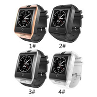 Wholesale connection watch - Q18 Bluetooth Smart Watch Support SIM Card NFC Connection Health Smartwatches For Android Smartphone with Retail Package