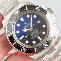 dafd81ba75f 2015 Top AAA + Qualidade Relógios De Luxo Da Marca Rolex 44mm Assista  Movimento Automático De Aço Banda De Vidro De Safira Mens Relógio Mestre  Com Caixa ...