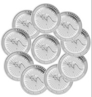 Wholesale Magnetic Weight - Wholesale-Non Magnetic,weight about 31gram pcs,1 oz Silver coin - 2016 Australian Kangaroo silver coin - Perth Mint,replica coin,10pcs lot