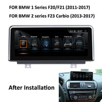 Wholesale bmw build car online - COIKA quot Android System Car DVD Multimedia Screen For BMW Series F20 F21 Series F23 Cabrio With G RAM GPS Navi BT