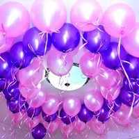 Wholesale letters balloons foil - Large Balloon Aluminum Foil Helium Balloons Birthday Carnival Wedding Party Decoration Celebration Supplies Valentine Day present100pcs Lot