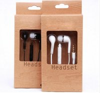 Wholesale Noise Types - New type Wholesale Stereo Headsets In Ear Earphone With Mic and Volume Control Headphones for Samsung Universal for Android Phones IPhone