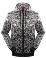 hoodies mais quentes venda por atacado-Hot New Fashion Homens e Mulheres Pulôver Amante Queda Windrunner Luz Windbreak Frete Grátis Zipper Hoodies