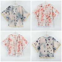 Wholesale Rich Coats - Ins Coat Riches And Honour Peony Printing Lithe Thin Loose