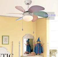 elegant moderne ventilateur plafond ventilateur luminaire enfants enfants lit chambre plafond lampes intrieur clairage intrieur restaurant boutiques lumires - Ventilateur De Plafond Pour Chambre