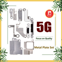 Wholesale Iron Replacement - Full Body Inner Small Holder Bracket Shield Plate For iPhone 5 5G Metal Iron Body Parts Set Kit Phone Replacement Repair Parts