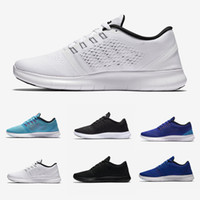 zapatos hombres aire libre al por mayor-Nike flyknit Free Run 2.0 3.0 4.0 5.0 free RN Hombres Mujeres Free Run 5.0 V Running Shoes Buena calidad Lace Up Air Mesh Transpirable deporte Jogging Sneakers Shoes A001