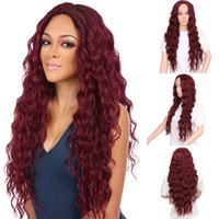 Wholesale New European and American women s small volume long hair split wig head factory spot