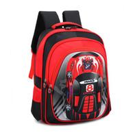 Wholesale kids backpacks cars online - 2018 NEW arrived Cartoon car school bags boys Orthopedic backpack Waterproof Children schoolbags kids shoulder bag colors