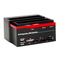 satılık sata sabit diskler toptan satış-Yüksek Kalite 2.5 inç 3.5 inç SATA IDE HDD Docking İstasyonu Sabit Disk Sürücüsü USB HUB Kartı Sıcak Satılık stok var !!!