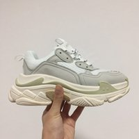 Wholesale Men S Pointed Shoes - Tripe-S 17FW Throwback Casual Shoe Fasion Shoes White Colors TOP Quality NEW Sneakers Men and Women Shoes Wholesale