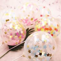 balões vermelhos polegadas venda por atacado-Net balão vermelho Bolo decoração plug-in Pedaço de papel de balão bolo decoração 6 polegada pequeno balão T4H0293