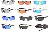 lunettes de soleil de chasse achat en gros de-Coupe-vent PC UV400 demi-lunettes lunettes chasse camping randonnée pêche équitation sports de plein air lunettes de soleil protecteur femmes hommes lunettes ey001