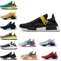 720ef250e28d0 2018 NMD Human Race TR Men Running Shoes Pharrell Williams Nmds Human Races  Pharell Williams Mens Womens Trainers Sports Sneakers 36-45