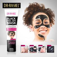 Wholesale charcoal peel off mask for sale - Group buy DR RASHEL Women Black Mask Nose Blackhead Remover Peel Off Facial Mask Acne Treatment Collagen With Bamboo Charcoal