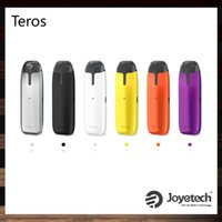 Wholesale eco pods for sale - Group buy Joyetech Teros Pod Kit With ml Refillable Cartridge mAh Built in Battery Innovative ECO Tech Color Changes AIO Kit Original