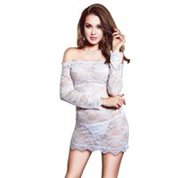 578104f349bc0 Wholesale high end lingerie online - nightclub lingerie Lace with Mesh  Tight Underwear Female Sleepwear Sexy
