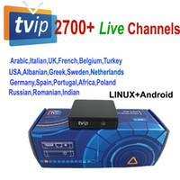 youtube arabic venda por atacado-2700 canais de streaming ao vivo para Original TVIP 412/410 tvip410 tvip412 Linux Android Top Box Set linux OS Stalker youtube árabe Italiano XXX