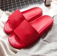 Wholesale popular showers - Popular men summer sandals sup slippers women unisex couple sandals with box size 5-11