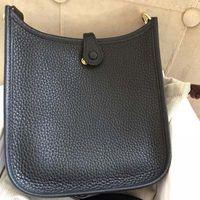 ingrosso vendita di borse nere di designer-Fashion Women Classic Bag EveIyne Borsette in pelle Designer di marca Donna Nuove borse a tracolla di lusso Marrone Rosso Borse nere H1012 Saldi