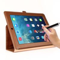 ipad stylus pen punto fino al por mayor-1pcs LANDFOX Stylus Fine Point Touch Pen para iPad iPhone iPod Samsung HTC MOTO Smartphone Tablet Envío gratuito de alta calidad