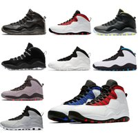 62778b558703 Cement Westbrook X I m back 10 10s Men Basketball Bobcats Chicago Cool Grey  Powder Blue Steel Grey black white Stealth Shoes sport Sneakers