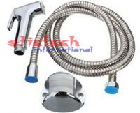 Sconto shattaf set - da dhl o ems 100 set ABS Hand held Bidet WC Shattaf Kit spruzzatore doccia Set