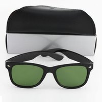 Wholesale order mirrors - 10pcs Mix Order Brand Designer Fashion Men Sunglasses UV Protection Outdoor Sport Vintage Women Black Green Sun glasses Eyewear With box