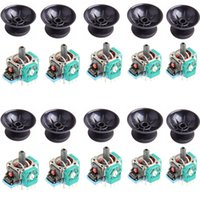 Wholesale ps4 controller parts for sale - Group buy 10 Sets D Analog Joystick Sensor Module Potentiometer with Thumb Sticks for Sony Playstation PS4 Controller Repairn Parts