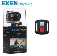 Wholesale lcd camera hdmi online - Original EKEN H9R with remote control Ultra HD K WiFi HDMI P LCD D pro waterproof Sports camera by dhl