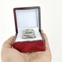 Wholesale packers green - 2018 The Newest 2010 Green Bay Packer s World Championship Ring With Wooden Box Fan Gift wholesale Drop Shipping